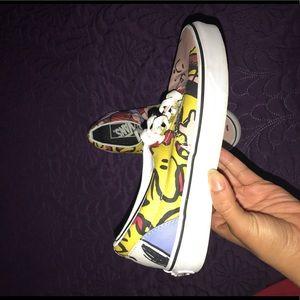 Snoopy edition Vans